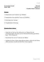 Matur Deutsch 4S 2003.pdf - Gymnasium Liestal