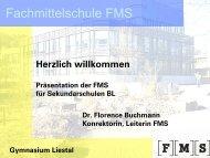 Fachmittelschule FMS - Gymnasium Liestal