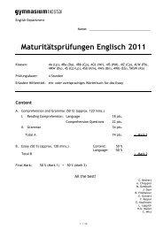 Matur 2011 E.pdf - Gymnasium Liestal