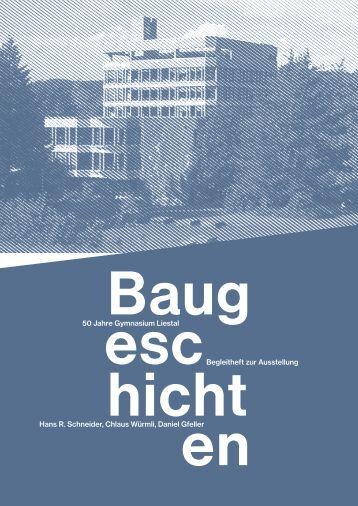 50 Jahre Gymnasium Liestal Begleitheft zur Ausstellung Hans R ...