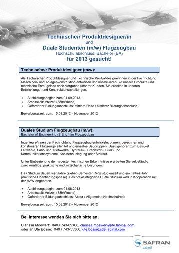 Ausbildungsrahmenplan f for Produktdesign berlin studium