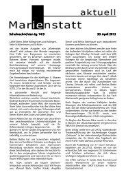 Schulnachrichten Jg. 14/5 Schulnachrichten Jg. 14/5 30. April 30 ...