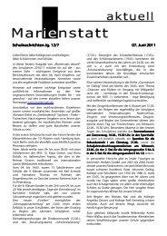 Schulnachrichten Jg. 12/7 Schulnachrichten Jg. 12/7 07. Juni 2011