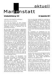 Schulnachrichten Jg. 13/2 Schulnachrichten Jg. 13/2 22. September ...