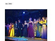 Abi 2002 - Gymnasium Marsberg