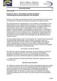 Projekt der Jgst - Gymnasium Marsberg