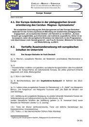 E-Kapitel 4 Europa-Konzept - Gymnasium Marsberg
