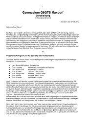 1. Elternbrief vom 27. August 2012 - Gymnasium Maxdorf