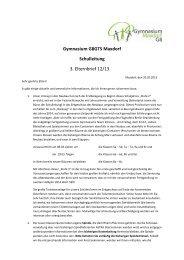 3. Elternbrief vom 20. März 2013 - Gymnasium Maxdorf