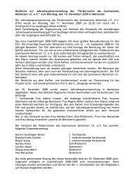 Ausführlicher Jahresbericht 2009 von C. Hauer (download: 47Kb)