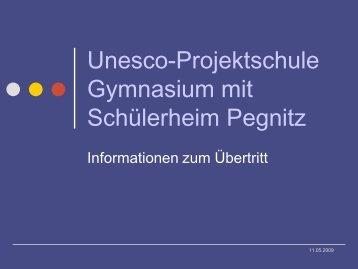 2. Fremdsprache - Gymnasium Pegnitz