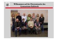 Willkommen auf der Elternratsseite des Gymnasiums Rahlstedt