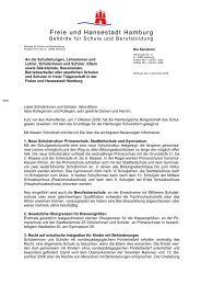 11. Schulbrief der Senatorin - Gymnasium Rahlstedt