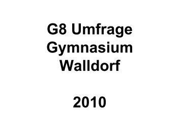 Klasse 10 - Gymnasium-Walldorf