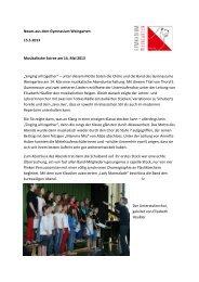 musikalische soiree.pdf - Gymnasium Weingarten