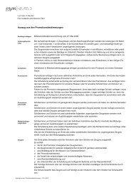 Auszug aus den Promotionsbestimmungen - Gymnasium Neufeld
