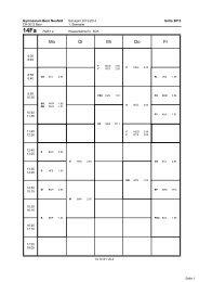 Klassenpläne für das 1. Semester 2013/2014 - Gymnasium Neufeld