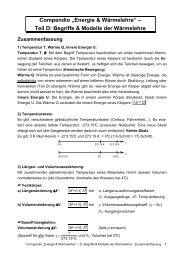 Begriffe & Modelle - Zusammenfassung