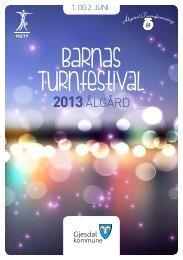 BarnasTurnfestivalÅlgård_2013_16 (2).pdf - Norges gymnastikk og ...
