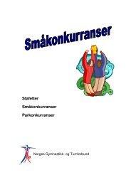 Stafetter Småkonkurranser Parkonkurranser - Norges gymnastikk og ...