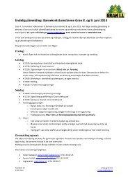 Endelig påmelding: Barnekretsturnstevne Gran 8. og 9. juni 2013