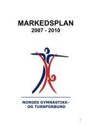 MARKEDSPLAN - Norges gymnastikk og turnforbund