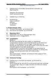 Agenda for Kretstinget 2013. - Norges gymnastikk og turnforbund