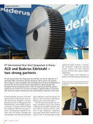 two strong partners - Buderus Edelstahl Gmbh