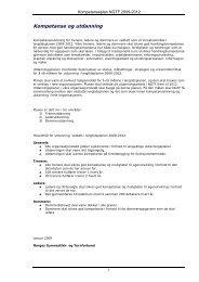 Kompetanseplan NGTF 2009-2012.pdf - Norges gymnastikk og ...