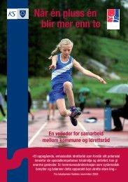 Når en pluss en blir mer enn to - Norges idrettsforbund