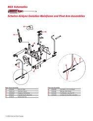 NGS Schematics Schwinn Airdyne Evolution Mainframe and Pivot ...