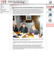 Zajednički sastanak partnera na projektu FP7REGPOT20081 TPot ...