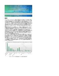 イタリアにおけるナノテクノロジーの現状 AIRI/Nanotec IT 概要 イタリア ...