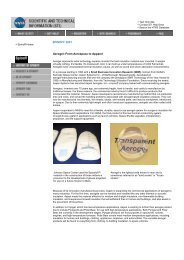 Aerogel--From Aerospace to Apparel