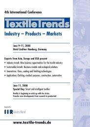Industry – Products – Markets - Grado Zero Espace Srl