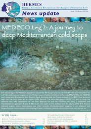 MEDECO Leg 2: A journey to deep Mediterranean cold seeps