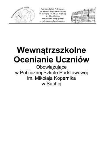 Wewnątrzszkolne Ocenianie Uczniów (PDF, 528.21 KB)