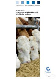 Leitfaden Landwirtschaft Rinderhaltung