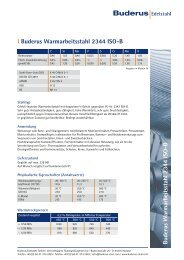 Buderus W armarbeitsstahl 2344 ISO-B l ... - Buderus Edelstahl Gmbh