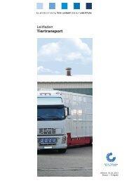 QS-Leitfaden Tiertransport