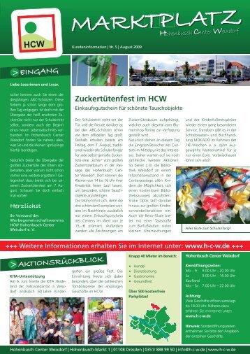 EINGANG - Hohenbusch-Center-Weixdorf