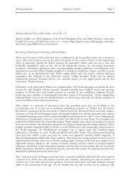 Page 1 H-France Review Vol. 13 (November 2013)