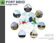 Findings from the Fort Bend Survey