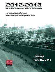 H-GAC 2012-13 Unified Planning Work Program - Houston ...