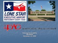 Lone Star Executive Airport