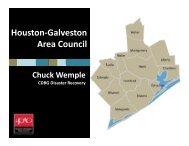 Subsidized Housing - Houston-Galveston Area Council
