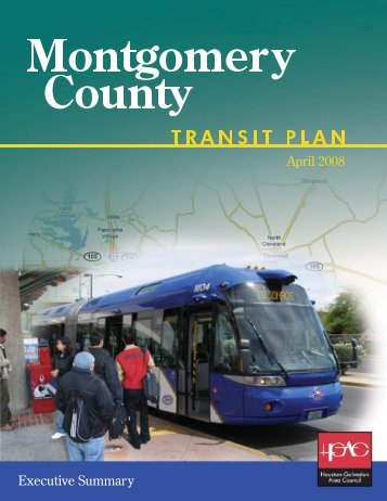 Montgomery County Transit Plan Executive Summary - Houston ...