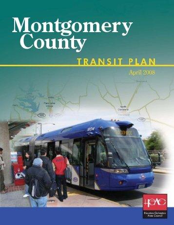 Montgomery County Transit Plan - Houston-Galveston Area Council
