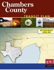 Chambers County - Houston-Galveston Area Council