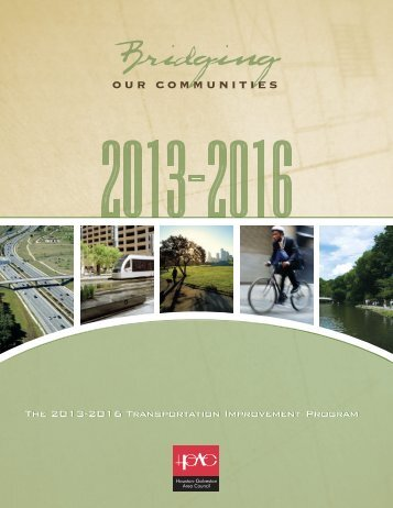 TRANSPORTATiON ImPROvEmENT PROGRAm - Houston ...